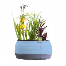 Large Deco Planter, Sky Blue