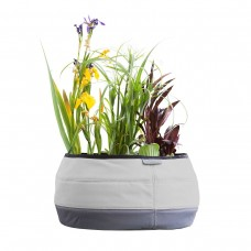 Large Deco Planter, London Gray