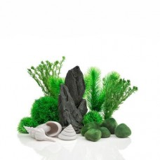 biOrb Green Stone Garden Decor Set