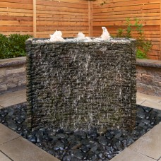 Stacked Slate Spillway Wall Kit