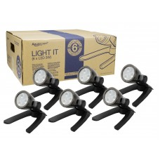 Pond & Landscape LED Spotlight Six Pack, 3W
